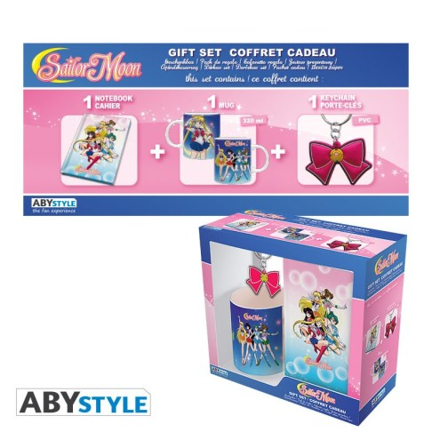 SAILOR MOON - MUG 320ML + PORTACHIAVI + NOTEBOOK SAILOR MOON