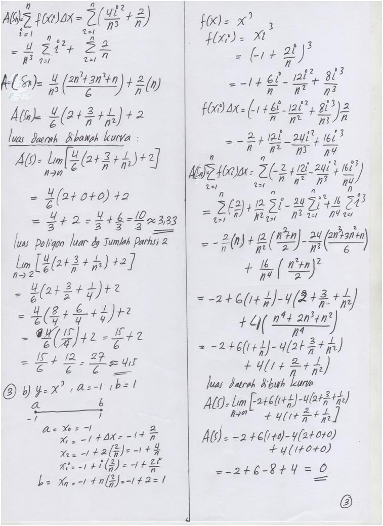 Keunggulan dalam memecahkan masalah matematis yang sulit dipecahkan menjadi salah satu faktor mengapa materi ini dipelajari secara luas … Soal Quiz Kalkulus 1 Beserta Jawabannya