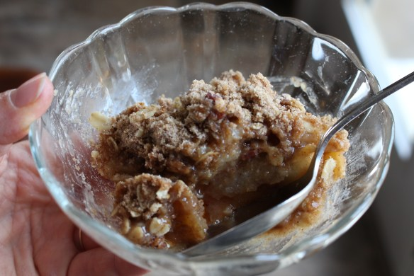 apple pear crisp II