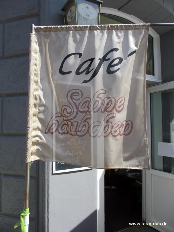 Cafè Sahnehäubchen Eingang