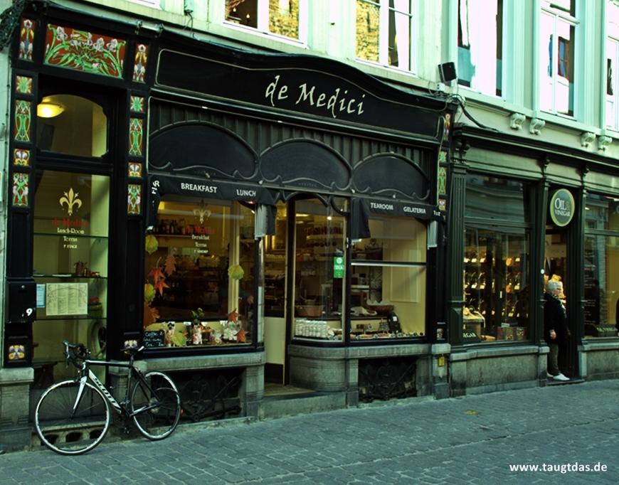 Einkaufstraße in Belgien