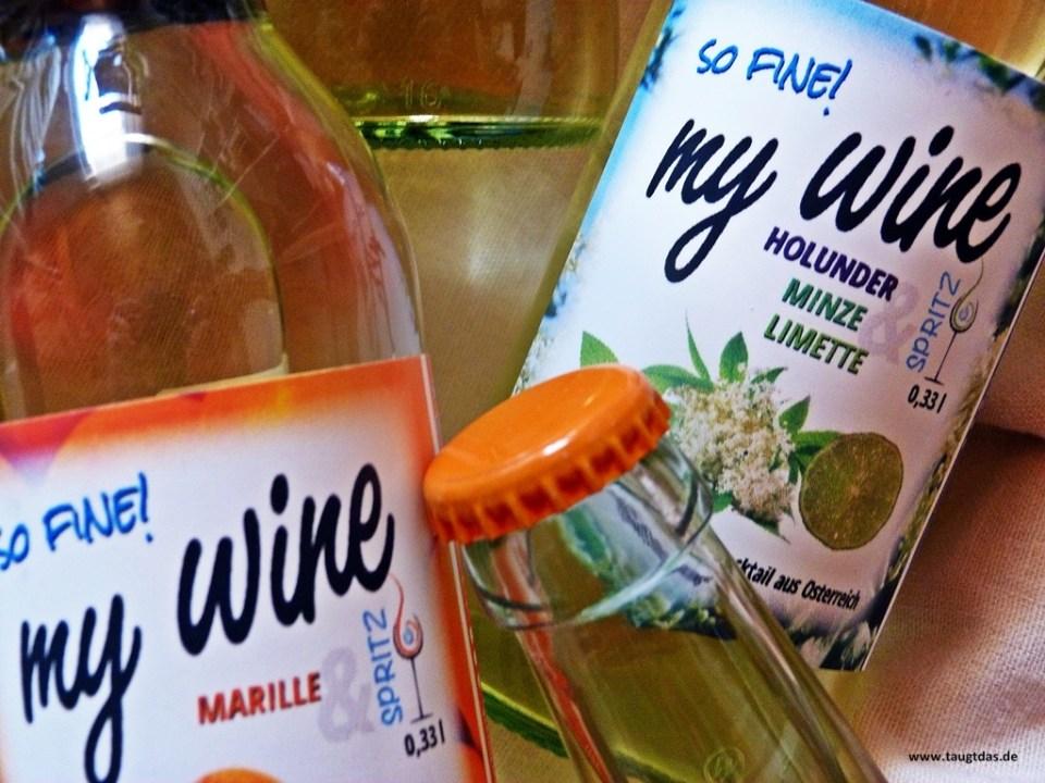 My Wine Holunder Minze LImette Spritz
