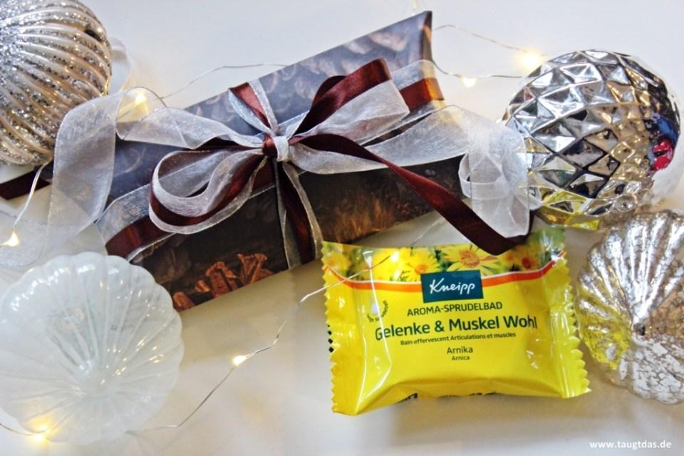Aroma Sprudelbad verpacken
