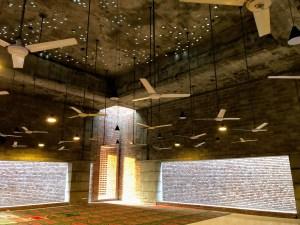 Bait Ur Rouf Mosque by Marina Tabassum