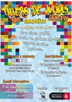 cartell tallers juliols A3 2017