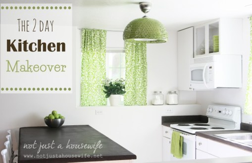 Two Day Kitchen Makeover - You won't believe it!