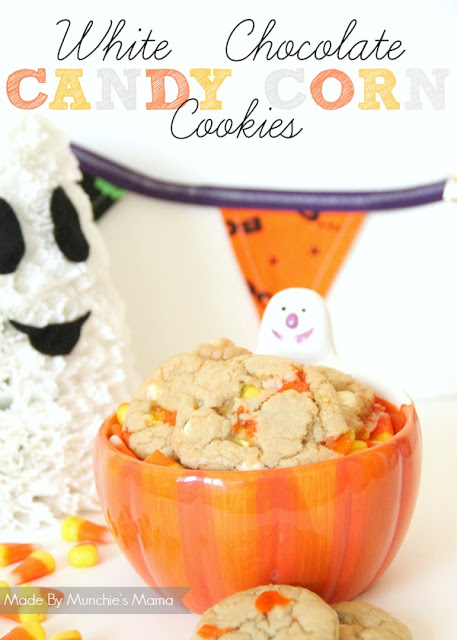 Candy Corn Cookies via Made by Munchies Mama