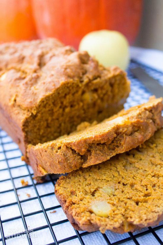 Apple pumpkin bread no diets allowed