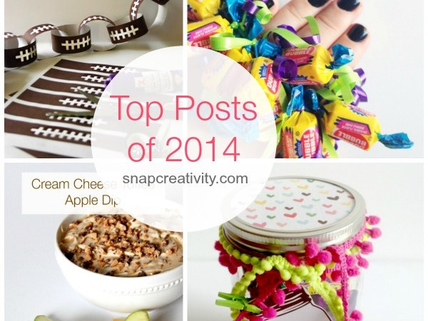 Top 10 Craft and Recipe Posts of 2014