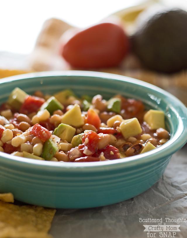 Bean and Corn Salsa by Tauni Everett