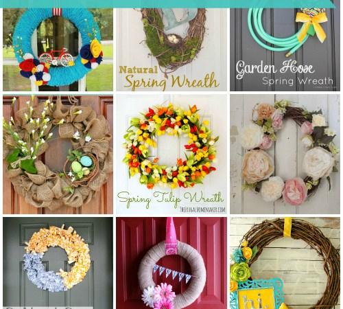 15 Delightful DIY Spring Wreaths