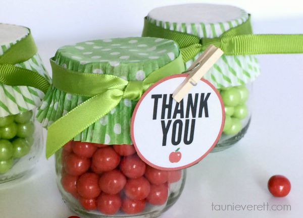 Apple Party Favor