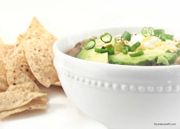 Chicken taco soup 2