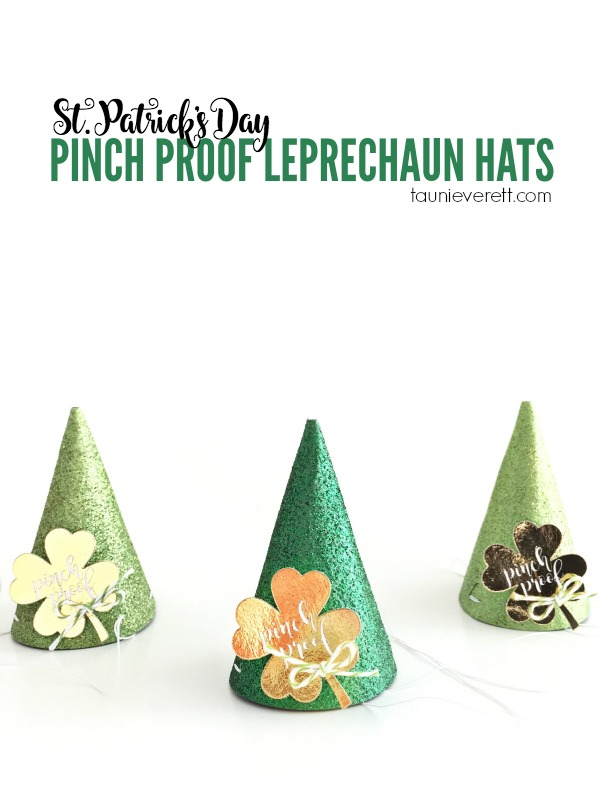 St. Patrick's Day Leprechaun Hats Tutorial - perfect for pinch proofing your celebration!