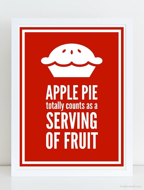 Apple pie fall print 600 © tauni everett