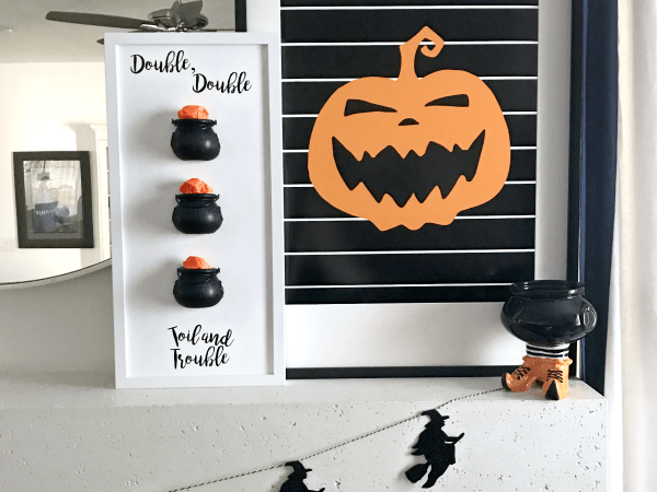 Witches Cauldron Halloween Specimen Art