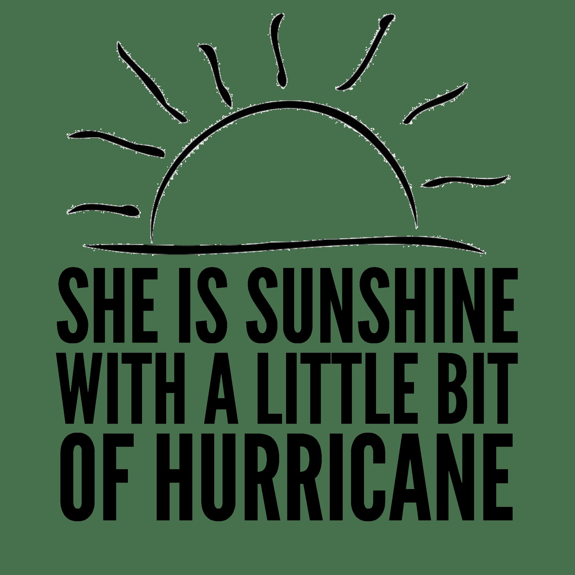 Sunshine And Hurricane T Shirt And Cut File