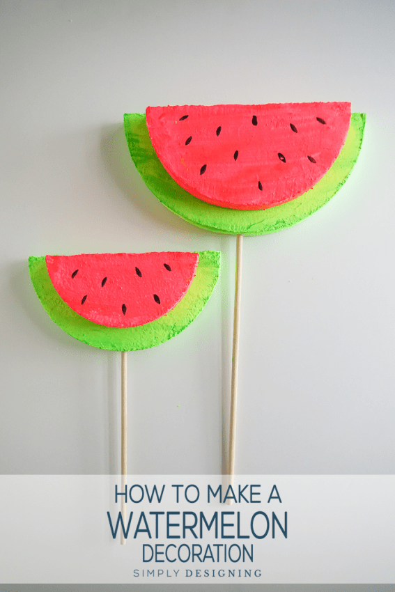 How to make a summer decoration for your home