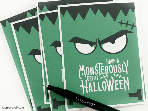Monsterously great halloween printable @ tauni everett 2018 3 600