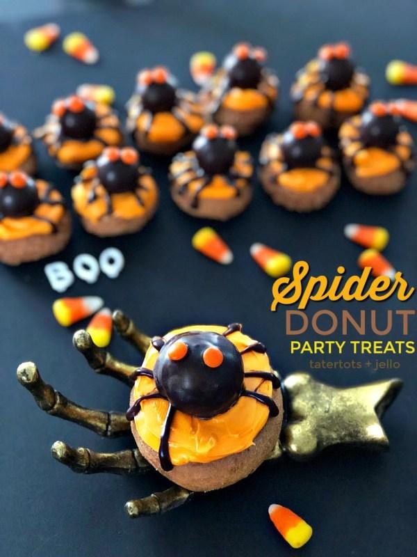 Donut spiders heading