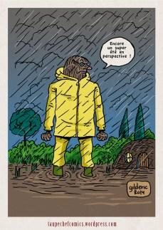 Un été sous la pluie - Dessin de Gilderic