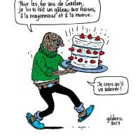 Les recettes Taupe Chef : Un gâteau pour Gaston