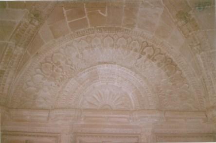 Ceiling at Man Mandir
