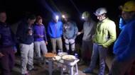 Camp de base / repas du soir
