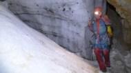 Céline / grotte des Echelles n°2