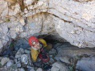 Patricia / prospection des cavités de la zone Nord