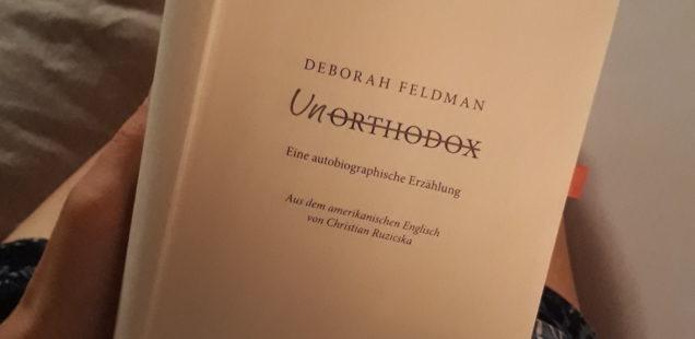 Buch Unorthodox-Deborah Feldman