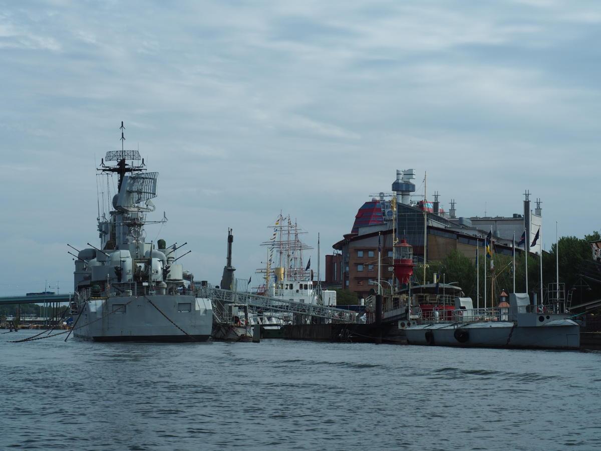 Das Maritiman bietet Zugang zu 20 zivilen und militärischen Schiffen