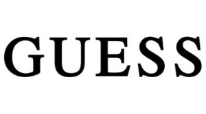 značka Guess logo
