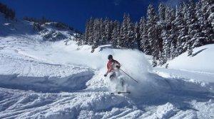 vrchné oblečenie na lyžovanie