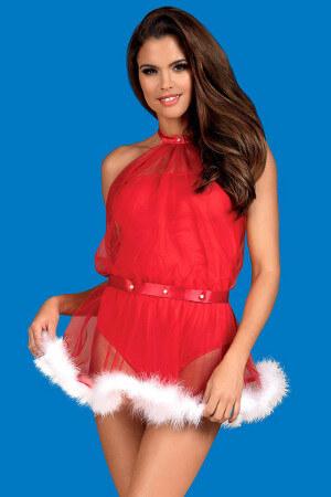 Sexy vianočný kostým Santastic