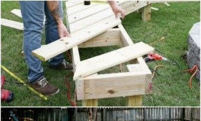 10 Diy Outdoor Wood Projects Anyone Can Make Diy Gardening regarding Diy Ideas For Backyard