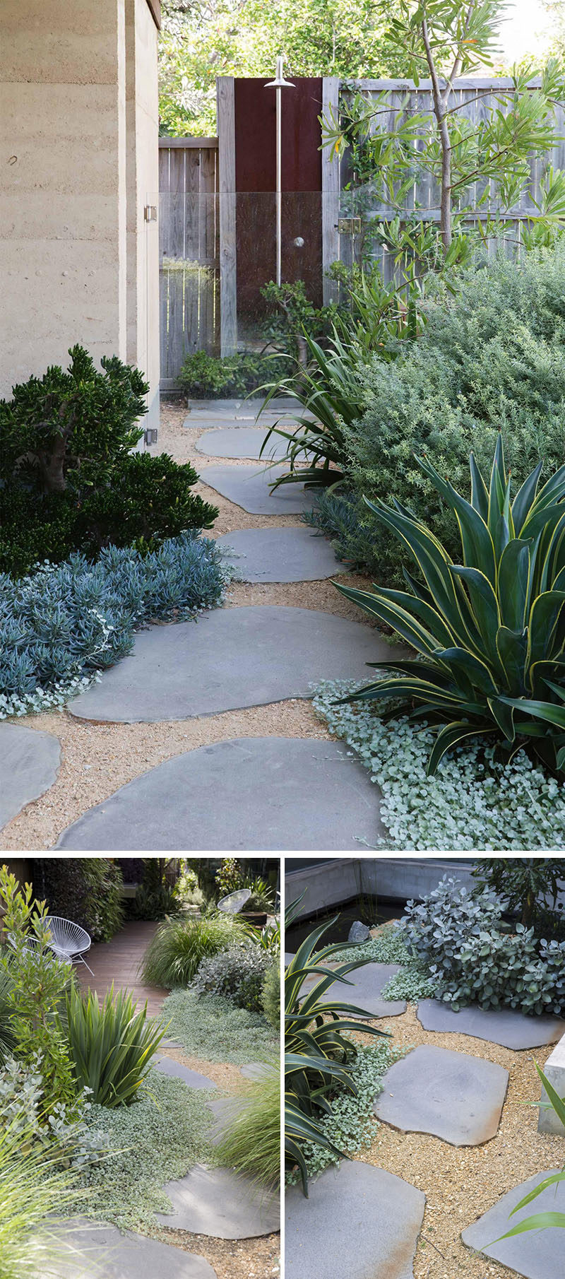10 Landscaping Ideas For Using Stepping Stones In Your Garden with 10 Clever Ideas How to Upgrade Backyard Stepping Stone Ideas