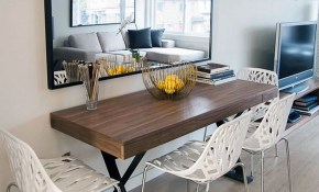 10 Narrow Dining Tables For A Small Dining Room Apartment Narrow with regard to 15 Clever Ways How to Make Dining And Living Room Sets