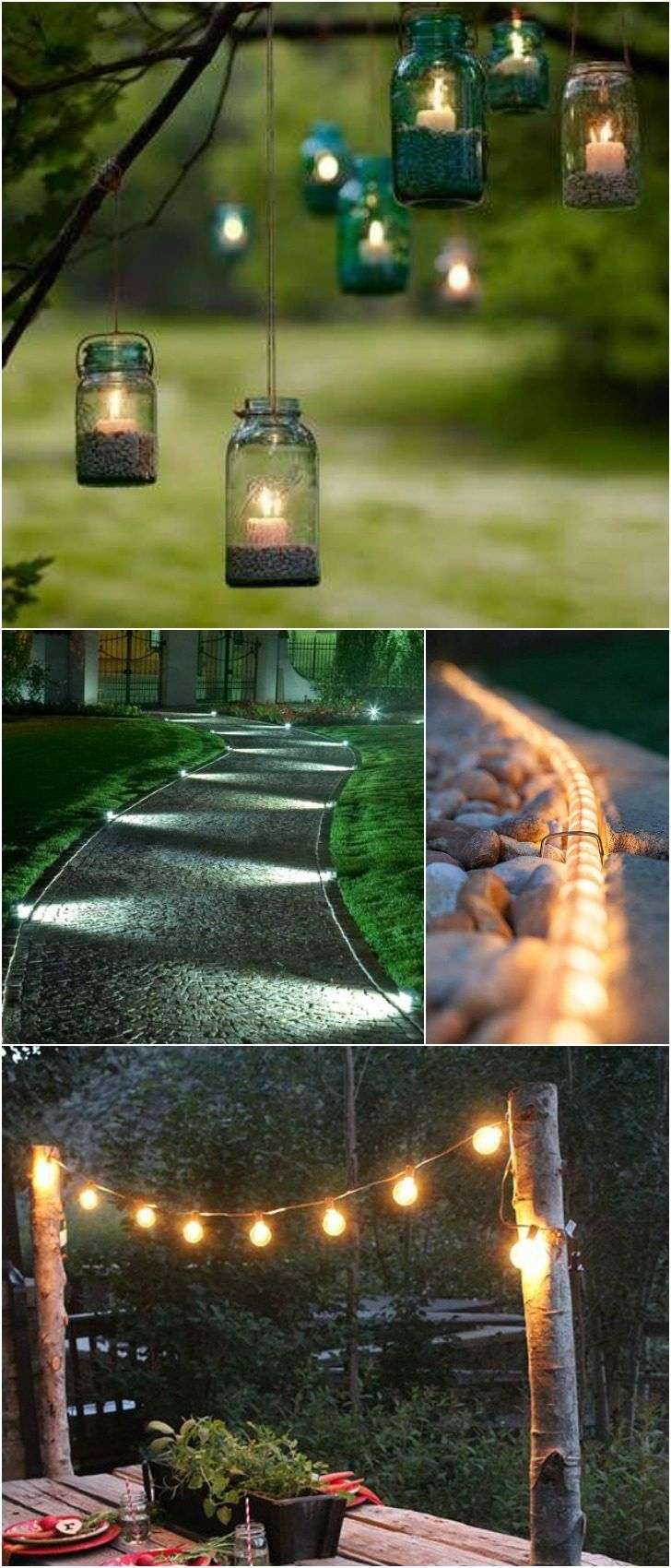 10 Outdoor Lighting Ideas For Your Garden Landscape 5 Is Really intended for Outdoor Backyard Lighting Ideas