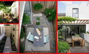 10 Small Terraced House Backyard Ideas Youtube in Terraced Backyard Ideas