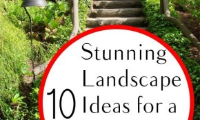 10 Stunning Landscape Ideas For A Sloped Yard Yard Ideas Sloped pertaining to 13 Genius Ways How to Build Landscaping A Hilly Backyard