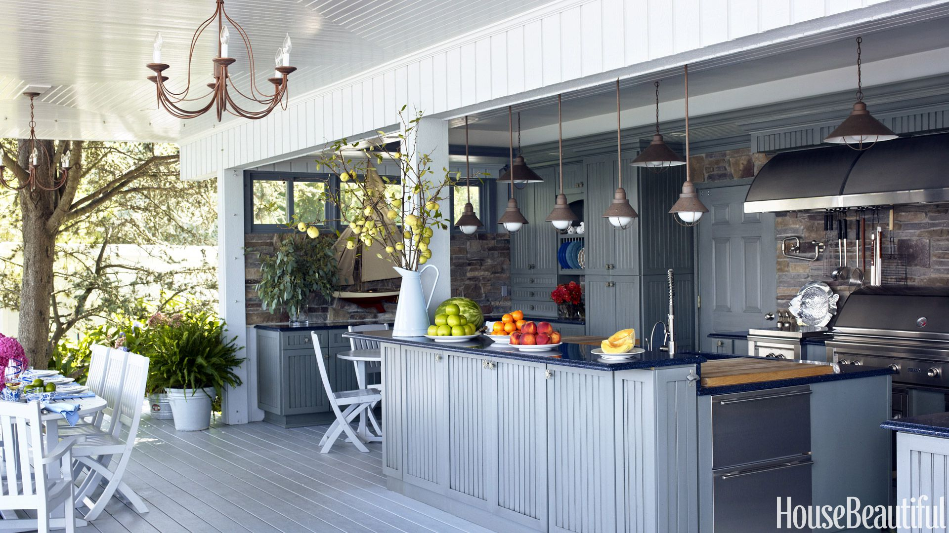 12 Outdoor Kitchen Design Ideas And Pictures Al Fresco Kitchen Styles for 13 Clever Concepts of How to Make Backyard Kitchen Ideas