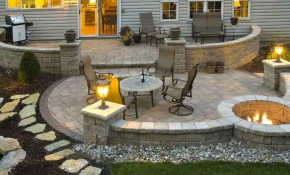 120 Beautiful And Fresh Backyard Patio Landscape Ideas Ev Mobilya throughout 12 Some of the Coolest Tricks of How to Makeover Backyard Patio Landscaping Ideas