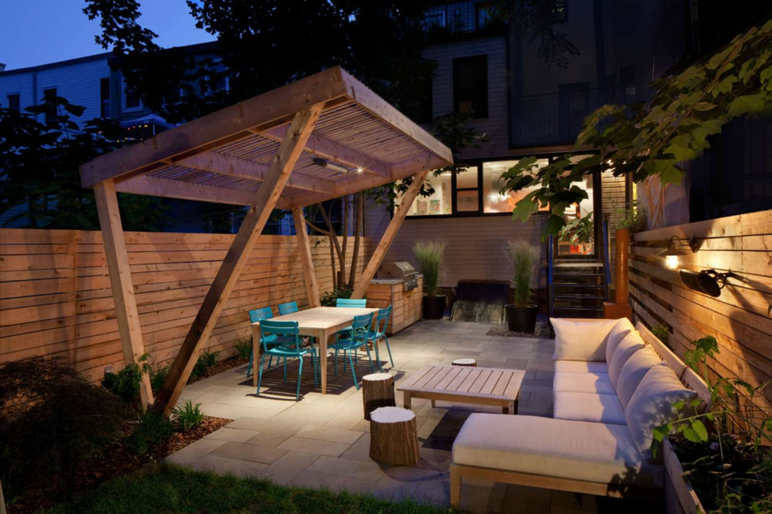15 Shade Ideas For Your Outdoor Space for Shade Backyard Ideas