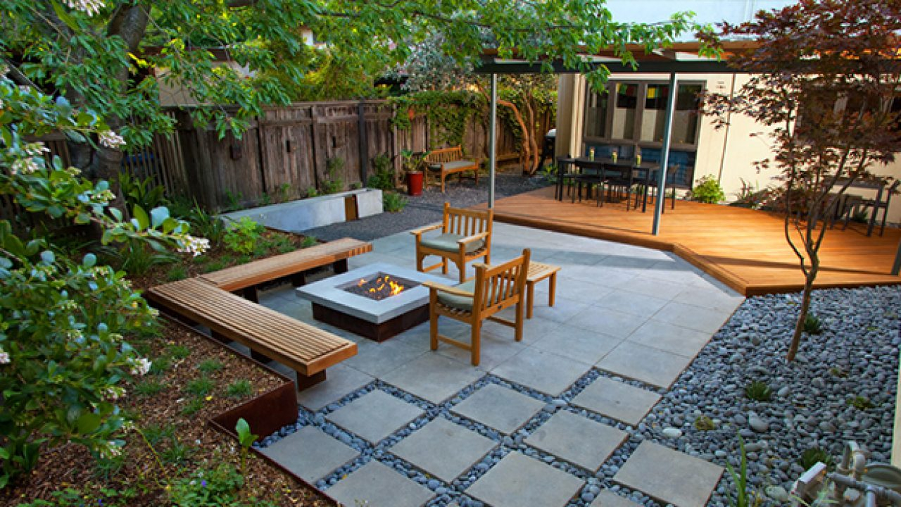 16 Captivating Modern Landscape Designs For A Modern Backyard in 11 Some of the Coolest Ways How to Improve Backyard Landscaping Design