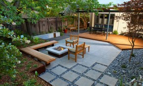 16 Captivating Modern Landscape Designs For A Modern Backyard within Modern Backyard Landscaping