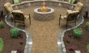 17 Of The Most Amazing Seating Area Around The Fire Pit Ever within Backyard Landscaping With Fire Pit