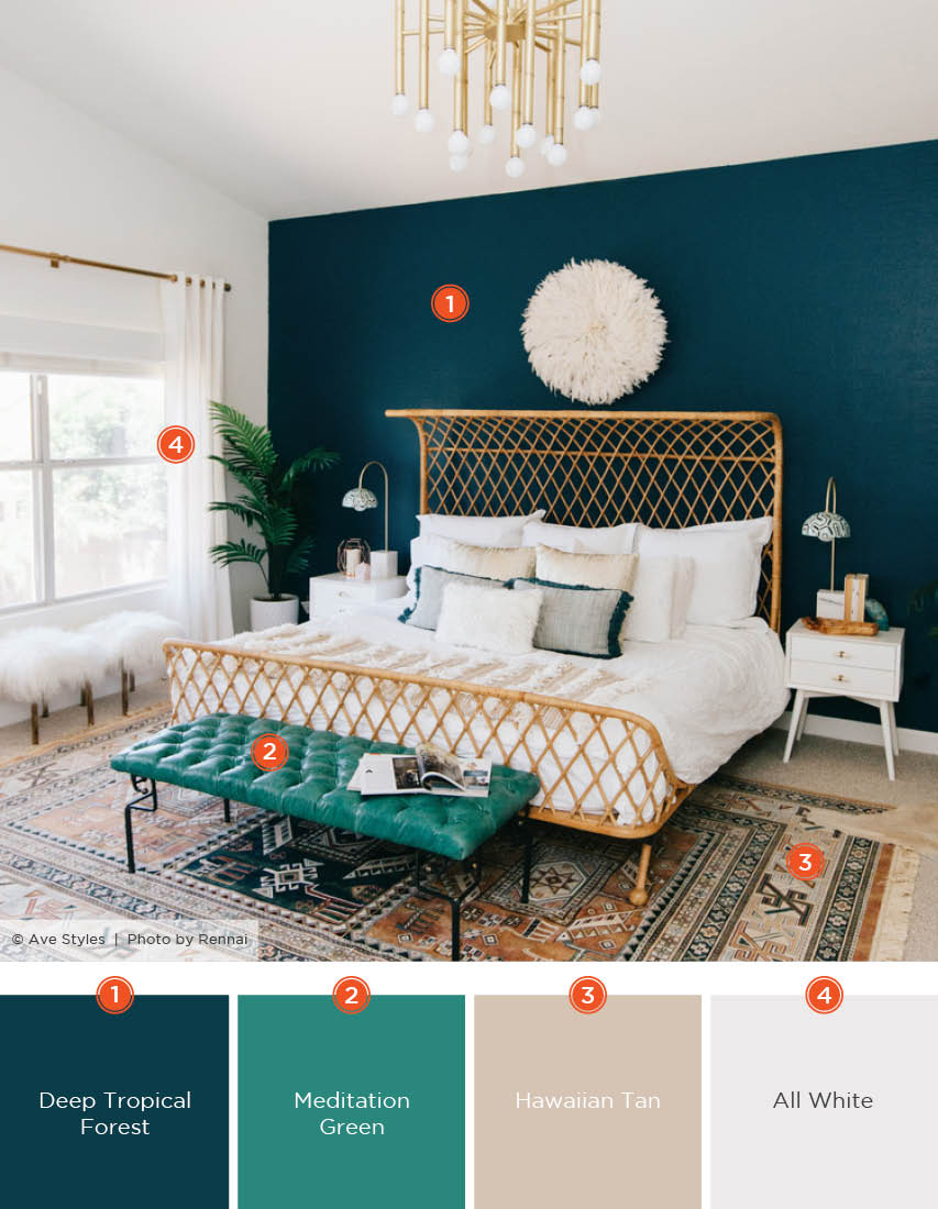 20 Dreamy Bedroom Color Schemes Shutterfly with regard to Modern Bedroom Color Schemes