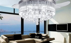 2019 Led Ceiling Fans Light Ac 110v 220v Invisible Blades Ceiling in 11 Some of the Coolest Initiatives of How to Build Modern Bedroom Ceiling Light Fixtures