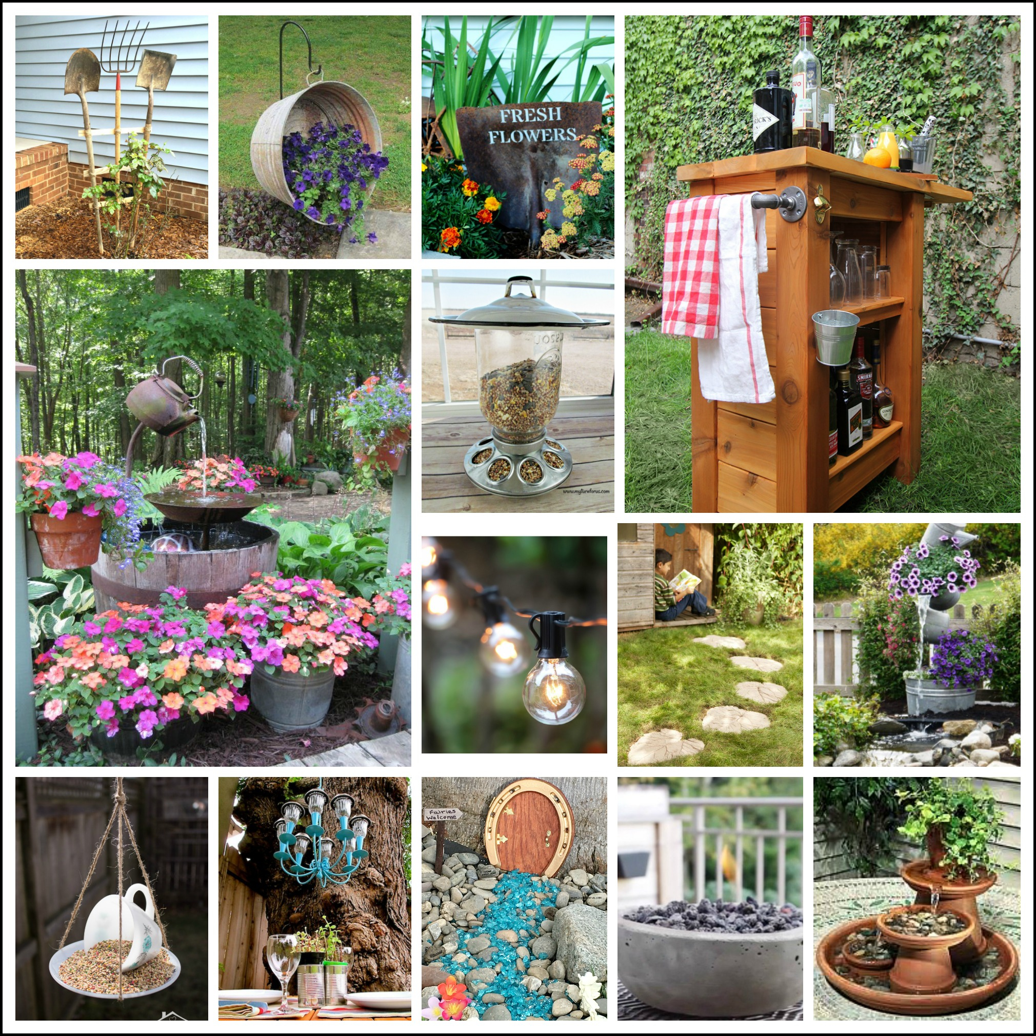 23 Best Diy Backyard Projects And Garden Ideas My Turn For Us with Ideas For My Backyard